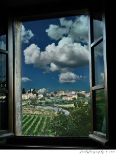 From My Apartment Window in Tuscany by Foto Iervolino